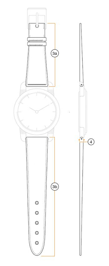 How to measure watch band length