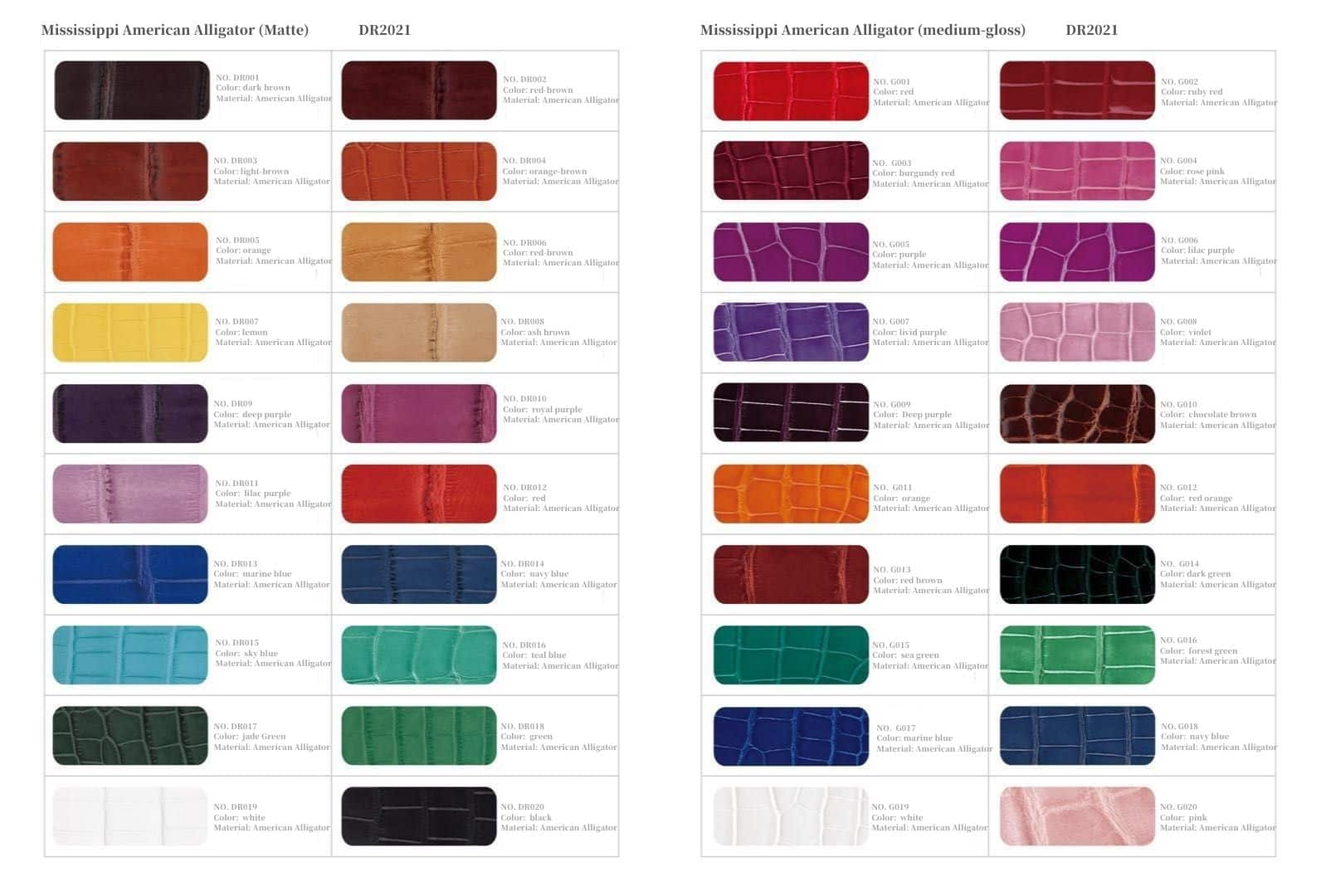 Drwatchstrap color optional - American Alligator