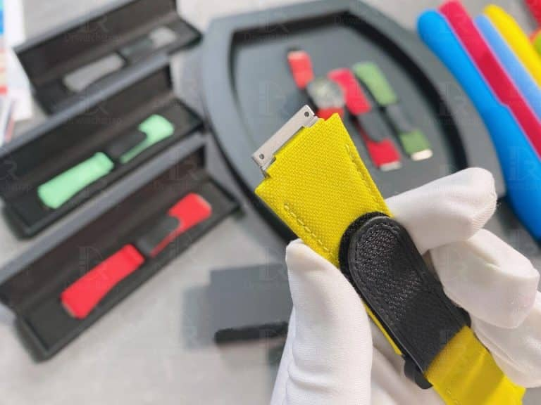 Richard Mille velcro strap yellow compatible with genuine RM 035 011 67