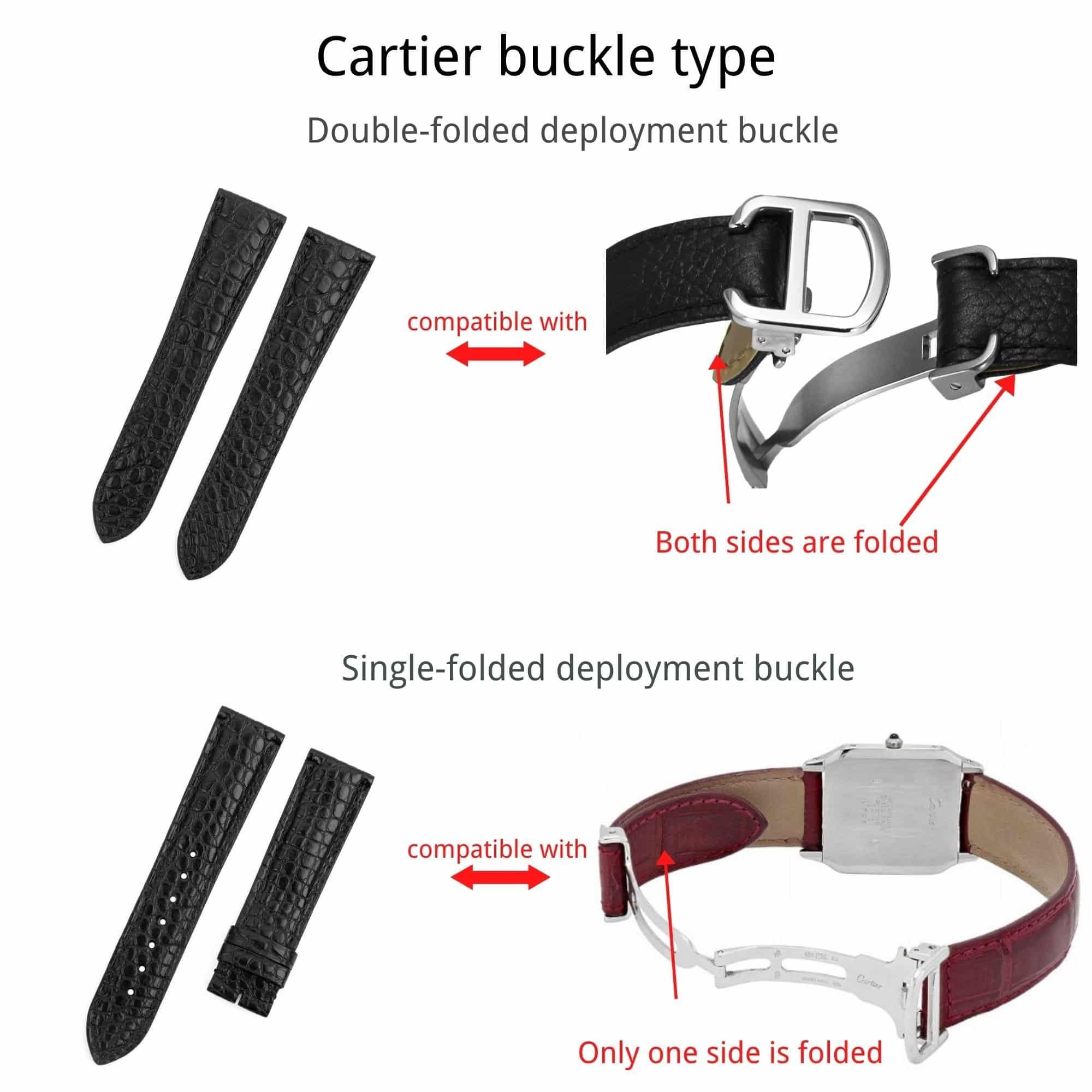 Cartier Buckle type